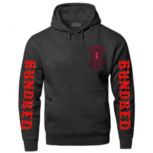 Black Color With Red Text Pewdiepie Hoodie