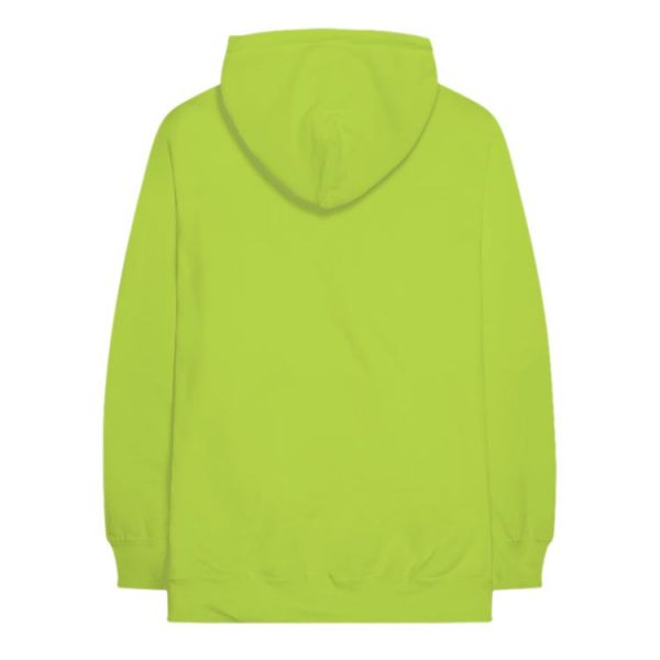 green color with red text pewdiepie hoodie