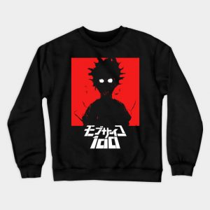 Black Blue Red Color Pewdiepie Mob Psycho 100 Sweatshirt