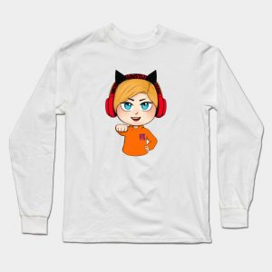 Male Cute Chibi Pewdiepie Brofist! Long Sleeve T-Shirt