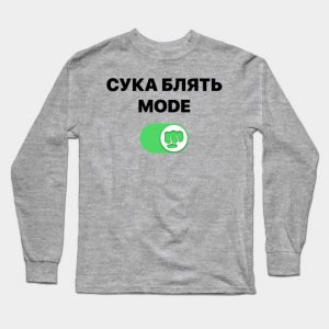 Male Pewdiepie - cyka blyat mode Brofist Pewds Long Sleeve T-Shirt