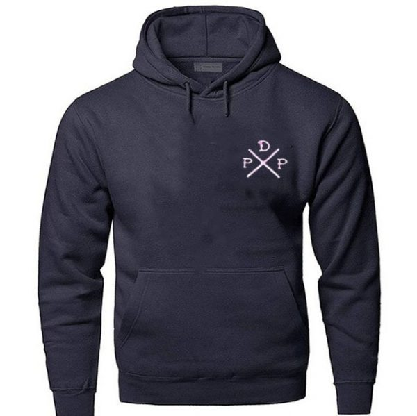 Short Logo Pewdiepie Merch Blue Hoodies
