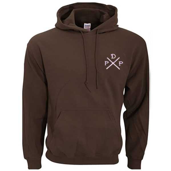 Short Logo Pewdiepie Merch Brown Hoodies