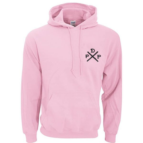 Short Logo Pewdiepie Merch Pink Hoodies