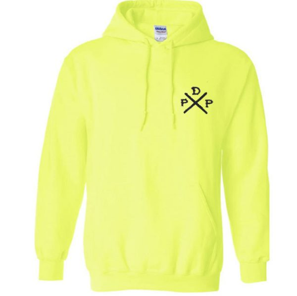 Short Logo Pewdiepie Merch Yellow Hoodies