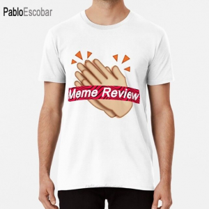White Black Color With Pewdiepie Meme Review T-Shirt