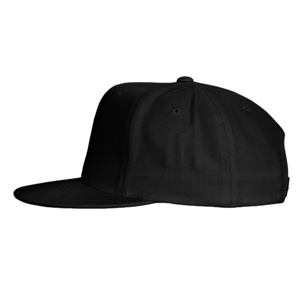 black Color With Pewdiepie Smash Logo Snapback Hat