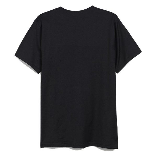 black color with red text logo pewdiepie merch shirt