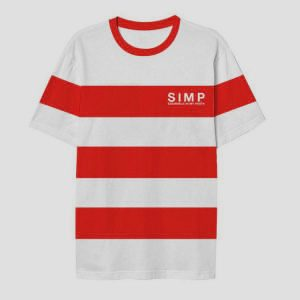 S I M P Tee Red