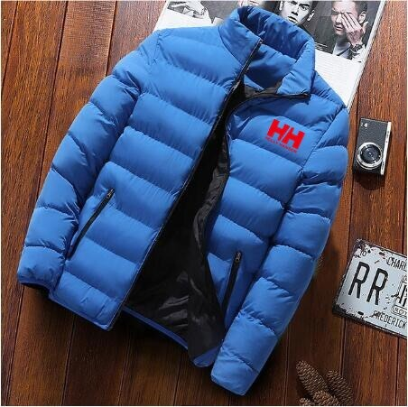 2020 New Men Winter Warm Out Wear Large size men's long sleeve stand collar cotton business casual zipper warm cotton jacket